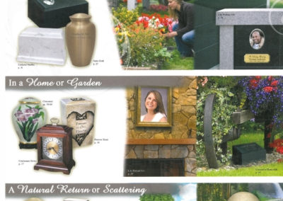 Choose a Final Resting Place - Cemetery - Home - garden - Natural Return - Scattering